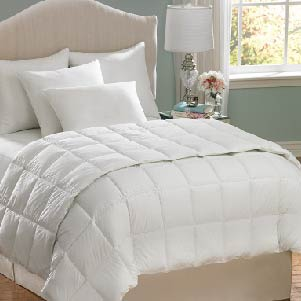 Bedspreads, comforters, and pillows