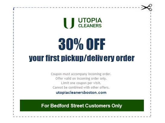 30% off laundry pickup service