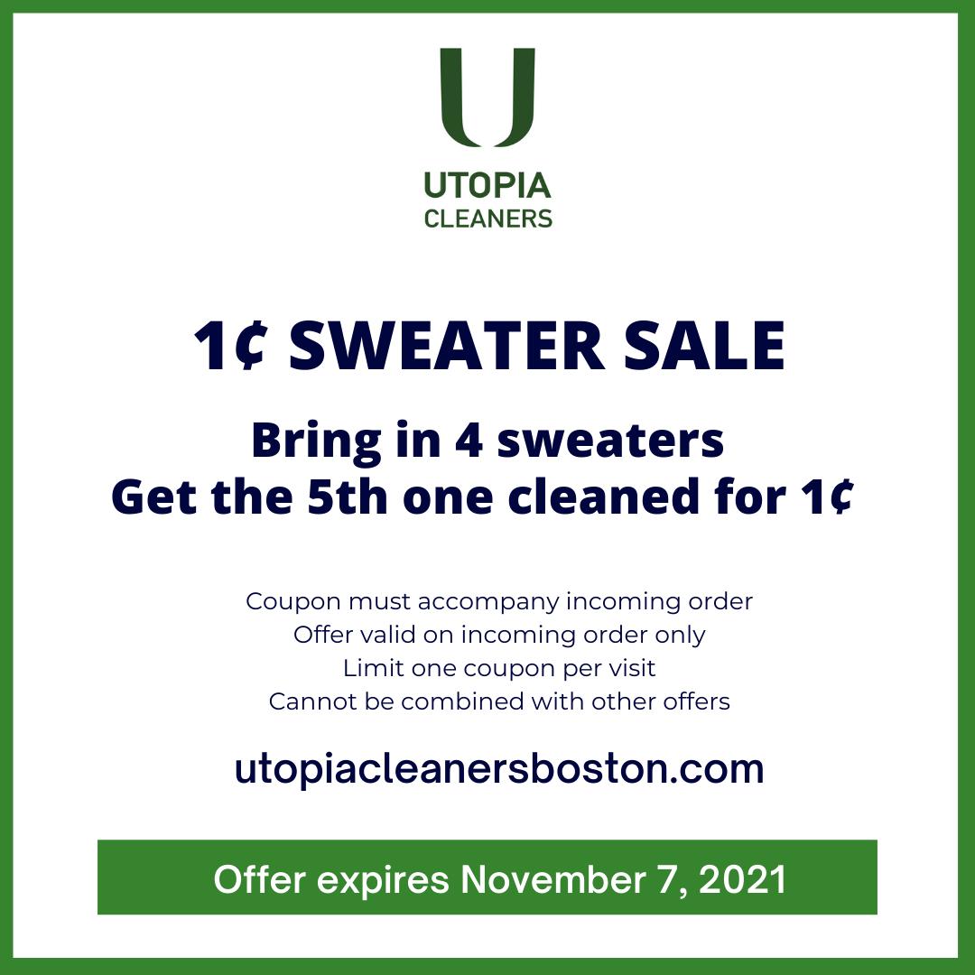 1¢ sweater coupon